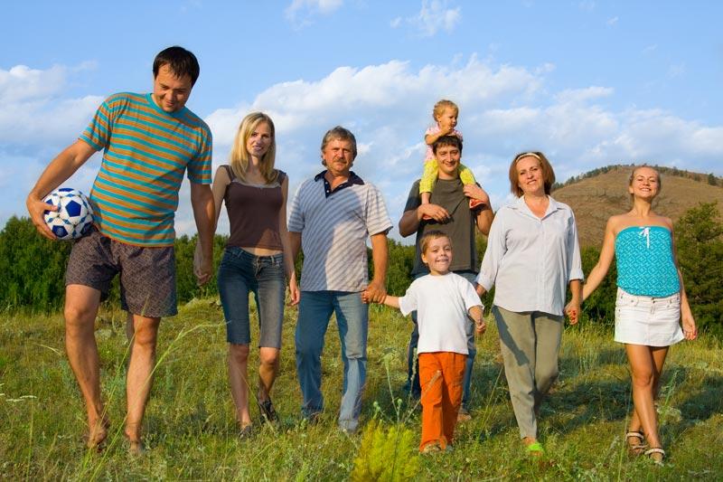 Inmersión en familia de habla inglesa