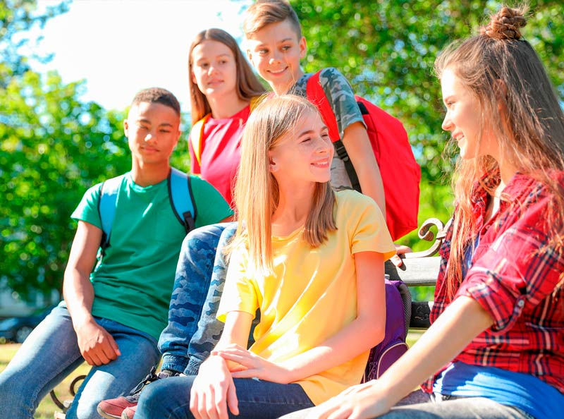 Inglés y diversión en el extranjero para jóvenes y adolescentes