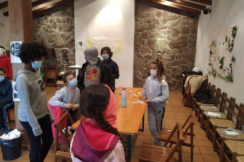 Campamento en El Colladito (Madrid): Los seres vivos y el cuerpo humano