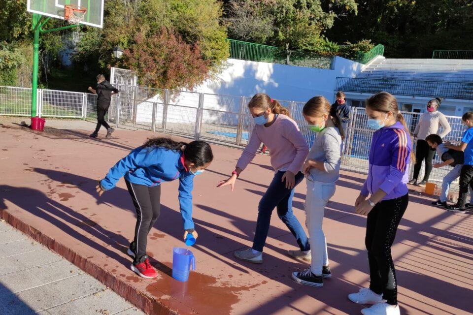 Inmersión lingüística en el Colladito (Madrid): Día 5. Colegios: CRA Javalambre y San Antonio de Padua.
